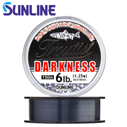 Монолеска SUNLINE Troutist Darkness 150M 0.104mm - фото 13029