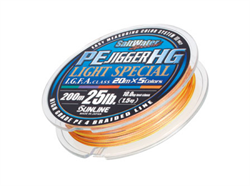 Шнур SUNLINE PE Jigger HG Light 200м 0.132mm 4.2 kg - фото 13075