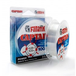 Леска Fanatik Captain Nylon 100 м. 0,28 мм - фото 14029