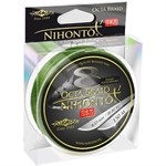 Шнур плетеный Mikado NIHONTO OCTA BRAID 0,10 green (150 м) - 7.75 кг., цвет «Зеленый»