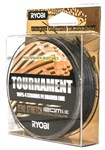 Шнур RYOBI PE TOURNAMENT 4* 120m d-0.092 #3.5kg Grey RB4G092